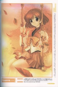 Rating: Safe Score: 5 Tags: binding_discoloration imasaka_yue memories_off neko rosanna seifuku User: admin2