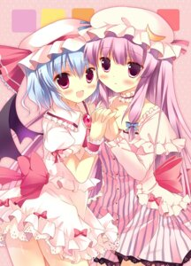 Rating: Safe Score: 32 Tags: azumi_kazuki patchouli_knowledge remilia_scarlet touhou wings User: 椎名深夏