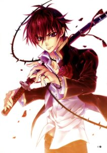 Rating: Safe Score: 11 Tags: barajou_no_kiss higa_kaede male shouoto_aya sword User: Radioactive