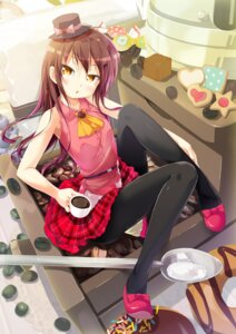 Rating: Safe Score: 61 Tags: cafe-chan_to_break_time cafe_(cafe-chan_to_break_time) pantyhose porurin User: fairyren