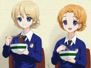 Rating: Safe Score: 15 Tags: darjeeling girls_und_panzer orange_pekoe rasukaru seifuku User: Radioactive