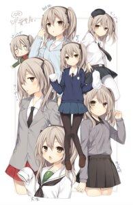 Rating: Safe Score: 57 Tags: character_design girls_und_panzer komeshiro_kasu pantyhose seifuku shimada_arisu uniform User: fairyren