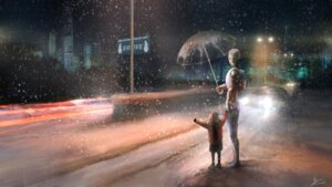 Rating: Safe Score: 19 Tags: landscape umbrella wallpaper you_(shimizu) User: Noodoll