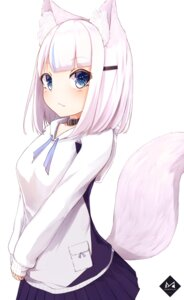 Rating: Safe Score: 16 Tags: animal_ears mayogii tail User: Mr_GT