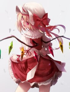 Rating: Safe Score: 29 Tags: fami_(yellow_skies) flandre_scarlet skirt_lift touhou wings User: Randeel