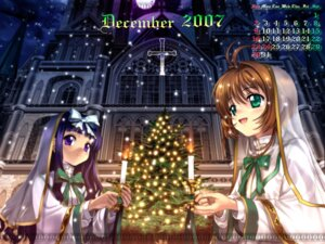 Rating: Safe Score: 12 Tags: calendar card_captor_sakura daidouji_tomoyo kinomoto_sakura moonknives User: MugiMugi