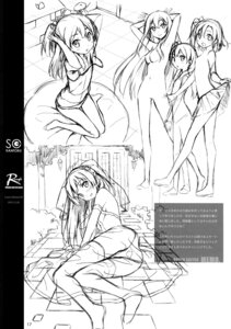 Rating: Safe Score: 13 Tags: 5_nenme_no_houkago kantoku monochrome naked no_bra pantsu see_through sketch skirt_lift thighhighs User: Hatsukoi