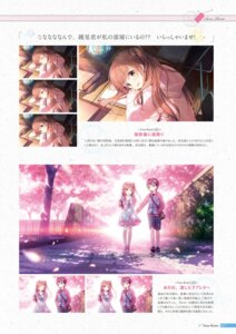 Rating: Questionable Score: 21 Tags: digital_version dress himeno_sena kimishima_ao koi_kakeru_shin-ai_kanojo seifuku us:track User: Twinsenzw