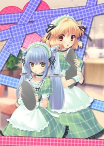 Rating: Safe Score: 37 Tags: flyable_heart ito_noizi kujou_kururi maid sasakura_ayato sumeragi_amane waitress User: marshmallow