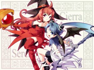 Rating: Safe Score: 2 Tags: cierra riviera serene thighhighs wallpaper witch User: feralphoenix