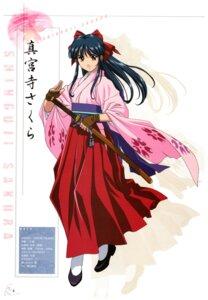 Rating: Safe Score: 10 Tags: heels japanese_clothes profile_page sakura_taisen shinguuji_sakura sword tagme User: Radioactive
