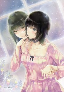 Rating: Safe Score: 46 Tags: dress flowers innocent_grey sugina_miki takasaki_chidori yaegaki_erika yuri User: wlx533633733