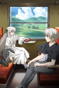 Rating: Safe Score: 34 Tags: dress kasugano_haruka kasugano_sora yosuga_no_sora User: nicky_008