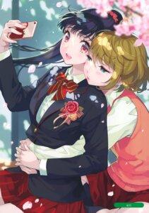 Rating: Safe Score: 11 Tags: seifuku selfie sweater tagme yuri User: kiyoe