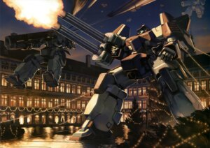 Rating: Safe Score: 8 Tags: endless_waltz gun gundam gundam_wing mecha User: drop