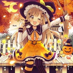 Rating: Safe Score: 16 Tags: cosplay halloween sakura_oriko witch User: Spidey