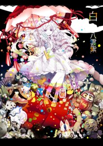 Rating: Safe Score: 14 Tags: dress hanada_hyou touhou umbrella yakumo_yukari User: charunetra