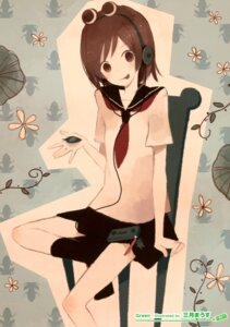 Rating: Safe Score: 6 Tags: headphones mitsuki_mouse seifuku User: Hatsukoi