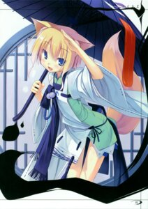Rating: Safe Score: 22 Tags: animal_ears asahiage kitsune poco User: midzki