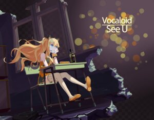 Rating: Safe Score: 29 Tags: animal_ears seeu thighhighs vocaloid yunamul User: Zenex