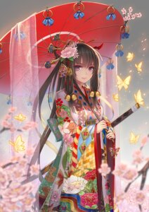 Rating: Safe Score: 64 Tags: kimono sword umbrella weiyinji_xsk User: Mr_GT