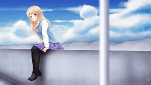 Rating: Safe Score: 30 Tags: heels miura_naoko pantyhose sakura-sou_no_pet_na_kanojo seifuku shiina_mashiro wallpaper User: charunetra