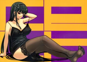Rating: Questionable Score: 70 Tags: cleavage cle_masahiro erect_nipples etcycle feet kimi_ga_aruji_de_shitsuji_ga_ore_de kuonji_shinra thighhighs User: Prometheus