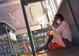 Rating: Safe Score: 85 Tags: guitar k_ryo seifuku User: Mr_GT