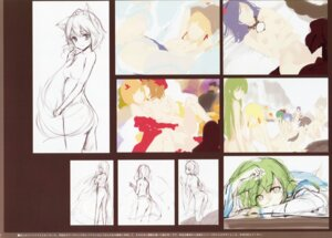Rating: Questionable Score: 6 Tags: ke-ta naked sketch touhou User: red_destiny