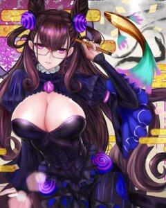 Rating: Safe Score: 42 Tags: dress fate/grand_order megane murasaki_shikibu_(fate) ytoy User: BattlequeenYume
