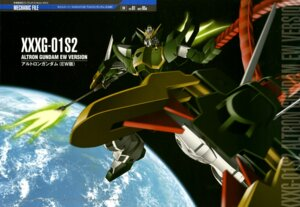 Rating: Safe Score: 7 Tags: altron_gundam gundam gundam_wing mecha shino_masanori weapon User: drop