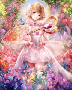 Rating: Safe Score: 40 Tags: dress juexing koizumi_hanayo love_live! thighhighs User: 椎名深夏