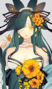Rating: Safe Score: 22 Tags: bandages cleavage japanese_clothes no_bra senryoko User: charunetra