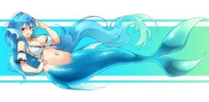 Rating: Safe Score: 34 Tags: bikini_top cleavage matsunoki mermaid monster_girl tail User: BattlequeenYume