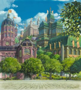 Rating: Safe Score: 15 Tags: howl_no_ugoku_shiro landscape studio_ghibli User: Radioactive