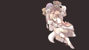 Rating: Safe Score: 10 Tags: dress kaname_madoka kyubey nabana puella_magi_madoka_magica wallpaper User: Spidey