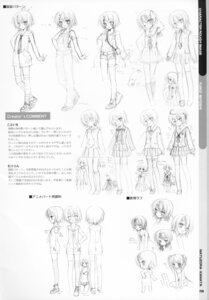 Rating: Questionable Score: 6 Tags: character_design expression kobuichi miyoshi_yuiko monochrome muririn natsuzora_kanata sketch yuzu-soft User: Anonymous