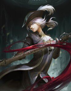 Rating: Safe Score: 32 Tags: bloodborne lady_maria_of_the_astral_clocktower sword User: charunetra