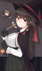 Rating: Safe Score: 24 Tags: choukai_(kancolle) halloween kantai_collection megane weapon witch yukichi_(sukiyaki39) User: Mr_GT
