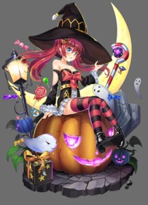 Rating: Safe Score: 22 Tags: 2drr cleavage dress halloween heels thighhighs witch User: Mr_GT