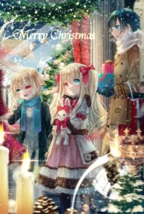 Rating: Safe Score: 22 Tags: christmas dress heterochromia yumeichigo_alice User: Mr_GT