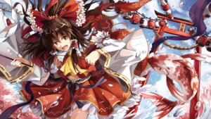 Rating: Safe Score: 30 Tags: hakurei_reimu neko_(yanshoujie) touhou User: Mr_GT
