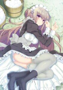 Rating: Questionable Score: 36 Tags: maid nanao_naru pantsu skirt_lift User: Twinsenzw