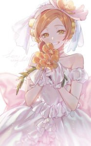 Rating: Safe Score: 14 Tags: dress hoshizora_rin io_(sinking=carousel) love_live! wedding_dress User: Mr_GT