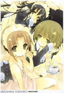 Rating: Safe Score: 21 Tags: dress maid mizushima_sorahiko summer_dress User: midzki