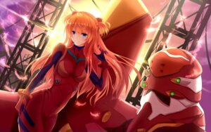 Rating: Safe Score: 40 Tags: bakanoe bodysuit eva_02 mecha neon_genesis_evangelion souryuu_asuka_langley User: sylver650