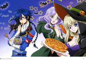 Rating: Questionable Score: 11 Tags: akito_the_exiled anna_clement cleavage code_geass dress elizabeth_(akito_the_exiled) halloween hyuuga_akito layla_markale neko shimamura_hidekazu uniform witch User: drop