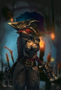 Rating: Safe Score: 29 Tags: cleavage dgatrick gun league_of_legends miss_fortune watermark User: charunetra