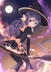 Rating: Questionable Score: 33 Tags: akebono_(kancolle) ass halloween kantai_collection pantsu thighhighs witch yuu_zaki User: Mr_GT