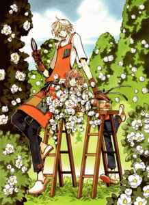 Rating: Safe Score: 10 Tags: clamp fai_d._flourite kinomoto_sakura tsubasa_reservoir_chronicle User: Share